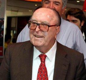 «Έφυγε» στα 87 του ο ιστορικός πρόεδρος του Ολυμπιακού Σταύρος Νταϊφάς - Κυρίως Φωτογραφία - Gallery - Video