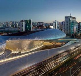 Design Park & Plaza : Με το στόμα ανοικτό η οικουμένη στο νέο αριστούργημα της κορυφαίας σύγχρονης αρχιτεκτόνισσας Ζάχα Χαντίντ στη Σεούλ - Δείτε & Share (φωτογραφίες & βίντεο) - Κυρίως Φωτογραφία - Gallery - Video