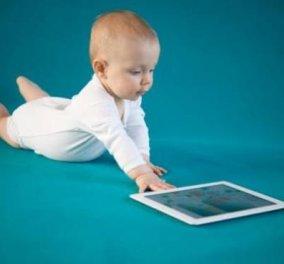 Μαμ, κακά και tablet: Ποιους κινδύνους κρύβει για τα «χάι-τεκ μωρά» η εποχή των έξυπνων συσκευών επικοινωνίας - Κυρίως Φωτογραφία - Gallery - Video