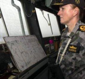 Top woman η Άλισον Νόρρις, η πλοίαρχος του Αυστραλιανού Πολεμικού Ναυτικού που ψάχνει το χαμένο Boeing στον Ινδικό Ωκεανό - Κυρίως Φωτογραφία - Gallery - Video