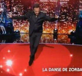Μία λέξη: καταπληκτικός Αλιάγας χορεύει και Ζορμπά μπροστά σε 5 εκ. τηλεθεατές! Μην χάσετε αυτό το βίντεο - Κυρίως Φωτογραφία - Gallery - Video