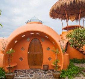 Καλημέρααα από ένα συγκλονιστικό ολοστρόγγυλο σπίτι, σαν γιγάντιο igloo που κτίστηκε μέσα σε 6 εβδομάδες με 9000 δολάρια! Επισκεφθείτε το! (φωτό - βίντεο)  - Κυρίως Φωτογραφία - Gallery - Video