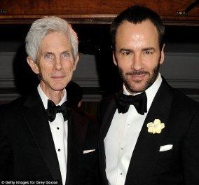 Επίσημα ενώθηκαν με τα δεσμά του γάμου ο διάσημος σχεδιαστής Tom Ford με τον Ρίτσαρντ Μπάκλεϊ ύστερα από 27 χρόνια σχέσης - έχουν ένα γιο 2 ετών από παρένθετη μητέρα! (φωτό)  - Κυρίως Φωτογραφία - Gallery - Video