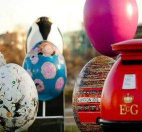 Fabergé Big Egg Hunt: Ralph Lauren, Carolina Herrera, Zaha Hadid σχεδίασαν 270 αυγά Fabergé και τα «έκρυψαν» στους δρόμους τις Νέας Υόρκης για καλό σκοπό (φωτό) - Κυρίως Φωτογραφία - Gallery - Video