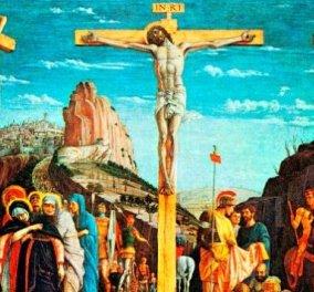 «Σήμερον κρεμάται επί ξύλου»  - Κορυφώνεται το Θείο Δράμα με το σταυρικό Μαρτύριο του Ιησού Χριστού - Κυρίως Φωτογραφία - Gallery - Video