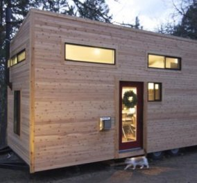 Δείτε αυτό το μικρό αλλά στιλάτο κι άνετο τροχόσπιτο-Ένα home project που σίγουρα θα ζηλέψετε (φωτό) - Κυρίως Φωτογραφία - Gallery - Video