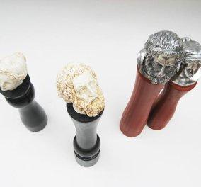 Πως το τρίβουν το πιπέρι ; Με την... κεφαλή του Δία και της Αφροδίτης ... (φωτό) - Κυρίως Φωτογραφία - Gallery - Video