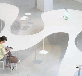 Μαγικό επαναστατικό τραπέζι: Cloud Table! Φορτίζει όλα τα κινητά & τα tablets χωρίς πρίζες, βελτιώνει το wifi! Ακουμπάς και ξεχνάς! Ολλανδός designer το παρουσίασε στο Μιλάνο! (φωτό) - Κυρίως Φωτογραφία - Gallery - Video
