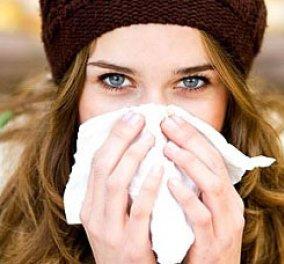 10 απλές συμβουλές:Πώς θα «γλιτώσετε» φέτος απ' τη γρίπη και το κοινό κρυολόγημα; - Κυρίως Φωτογραφία - Gallery - Video