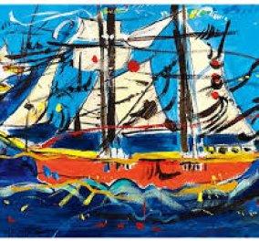 Τα καράβια από τον μαγικό χρωστήρα του Δημήτρη Μυταρά εκθέτει σήμερα στην γκαλερί του το eirinika - Κάθε μέρα παρουσιάζουμε έναν Έλληνα εικαστικό για ένα καλοκαίρι με τέχνη και αισθητική! (φωτό) - Κυρίως Φωτογραφία - Gallery - Video