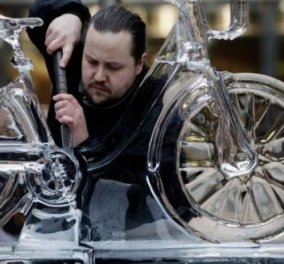 Όταν η γλυπτική μετατρέπει τον... πάγο σε καλλιτεχνικό αριστούργημα (φώτο) - Κυρίως Φωτογραφία - Gallery - Video