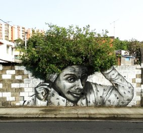 Όταν 20+1 γκράφιτι αλληλεπιδρούν με τη φύση το καλλιτεχνικό αποτέλεσμα είναι κάτι παραπάνω από φανταστικό! Απολαύστε τα! (φωτό) - Κυρίως Φωτογραφία - Gallery - Video