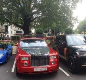 Το ακριβότερο πάρκινγκ πολυτελών αυτοκινήτων στον κόσμο: «κούκλες» 3 εκατ. λιρών,  χρυσές Ferrari, αεροδυναμικές Lamborghini (φωτό) - Κυρίως Φωτογραφία - Gallery - Video