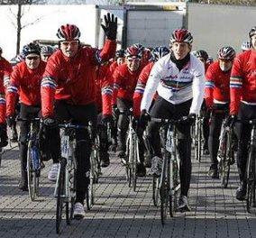 300 ποδηλάτες ταξιδέυουν απο την Αρχαία Ολυμπία έως το Λονδίνο για φιλανθρωπικό σκοπό!! - Κυρίως Φωτογραφία - Gallery - Video