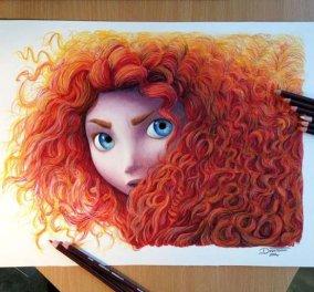 Οι εκπληκτικά ρεαλιστικές ζωγραφιές ενός Κροάτη καλλιτέχνη που σχεδιάζει τα τατουάζ & τα «χτυπάει» σαν σε καμβά! (φωτό) - Κυρίως Φωτογραφία - Gallery - Video