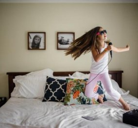 The Joy Project: Η Ginger Unzueta πιστεύει πως η χαρά της ζωής βρίσκεται στις στιγμές - Φωτογράφιζε επί 365 μέρες τα παιδιά της ! - Κυρίως Φωτογραφία - Gallery - Video