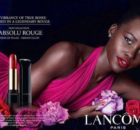 Η Lupita Nyong'o φέρνει λάμψη παλιού... Hollywood στη νέα διαφημιστική καμπάνια της εταιρείας Lancome - Δεν ψηφίστηκε άδικα μια από τις πιο όμορφες γυναίκες του πλανήτη! - Κυρίως Φωτογραφία - Gallery - Video