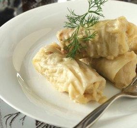 Λαχταριστοί λαχανοντολμάδες με συνταγή της Αργυρώς - τους έφτιαξα χτες με μπόλικο λεμονάκι και καροτάκι  - Κυρίως Φωτογραφία - Gallery - Video