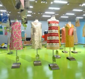PAP(I)ER FASHION: μια διαφορετική έκθεση φορεμάτων από την συλλογή της ATOPOS - Κυρίως Φωτογραφία - Gallery - Video