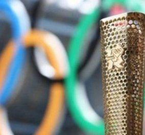 Η ελληνική φλόγα στα χέρια του David Beckham πετάει για Λονδίνο στις 7 το απόγευμα!! - Κυρίως Φωτογραφία - Gallery - Video