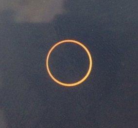Φαντασμαγορική η πρώτη έκλειψη ηλίου για φέτος!! Δείτε φωτογραφίες! - Κυρίως Φωτογραφία - Gallery - Video