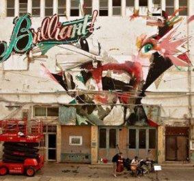 Δύο ''Brilliant'' έλληνες ζωγραφίζουν τον κόσμο!! - Κυρίως Φωτογραφία - Gallery - Video
