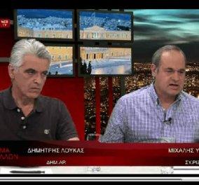Μ. Υδραίος-ΣΥΡΙΖΑ: ''Ναζιστές και άνθρωποι του υπόκοσμου, τα μέλη της Χρυσής Αυγής'' - Κυρίως Φωτογραφία - Gallery - Video