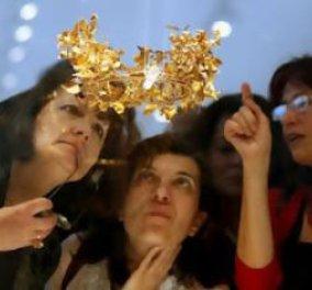 Στο φως ήρθαν 12 χρυσά στεφάνια από τη Μακεδονία!! - Κυρίως Φωτογραφία - Gallery - Video