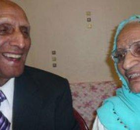 Γνωρίστε το ζευγάρι με τα περισσότερα χρόνια γάμου: 86!!! κ συνεχίζουν αγαπημένοι... - Κυρίως Φωτογραφία - Gallery - Video