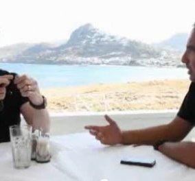 Η συνέντευξη στη Σκύρο των Ρόμπερτ Ντε Νίρο και Τζων Τραβόλτα στο Νίκο Αλιάγα για το Euronews - Κυρίως Φωτογραφία - Gallery - Video