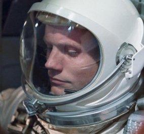 Ο Νηλ Άρμστρονγκ, ο πρώτος άνθρωπος που πάτησε στο φεγγάρι, γεννήθηκε 5 Αυγούστου και σήμερα... - Κυρίως Φωτογραφία - Gallery - Video