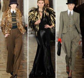 Weekend θέμα μόνο για κυρίες: Ralph Lauren χειμώνας 2012-2013 - Ονειρευτείτε και απολαύστε θέαμα! - Κυρίως Φωτογραφία - Gallery - Video