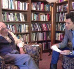 Ο Ίρβιν Γιάλομ μίλησε στον ταλαντούχο νέο συνάδελφο Θάνο Δημάδη και στην τηλεόραση του ΣΚΑΪ - Κυρίως Φωτογραφία - Gallery - Video