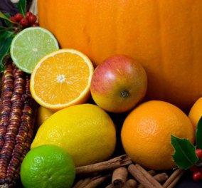 Πόσο ωφέλιμα και ποιες βιταμίνες μας δίνουν τα φθινοπωρινά μήλα, πορτοκάλια, αχλαδια, σταφύλια, μπρόκολο? - Κυρίως Φωτογραφία - Gallery - Video