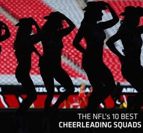 Οι ωραιότερες cheerleaders σε ένα μοναδικό slide-show!!! - Κυρίως Φωτογραφία - Gallery - Video