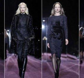''Η Γυναίκα με τα Mαύρα'': H φετινή κολεξιόν του Gucci, είπαμε, for our eyes only! - Κυρίως Φωτογραφία - Gallery - Video