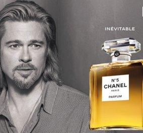 Δείτε πώς πήρε 7 εκατ. δολάρια ο Μπραντ Πιτ για διαφήμιση γυναικείου αρώματος ενώ μοιάζει με μεθύστακα! - Κυρίως Φωτογραφία - Gallery - Video