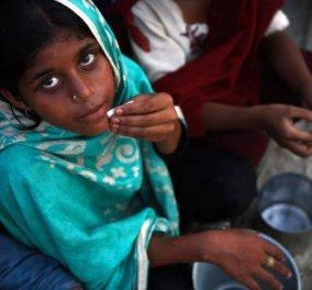 Παγκόσμια Ημέρα Διατροφής: Εκατομμύρια υποσιτισμένα παιδιά στην Ινδία - Κυρίως Φωτογραφία - Gallery - Video