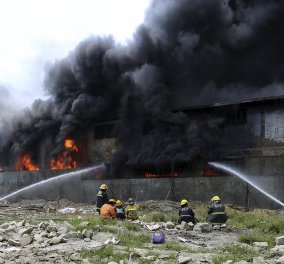 Σε 20 καρέ η τραγωδία στο εργοστάσιο με τις σαγιονάρες: 72 εργάτες κάηκαν σαν ποντίκια  - Κυρίως Φωτογραφία - Gallery - Video