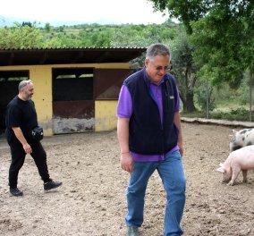 Made in Greece: Τα κρέατα της Φάρμας Μπράλου & η ψυχή του Δάμη Πειθή που τα σιτεύει σε state of the art ψυγεία - Σε λίγο και χασαποταβέρνα! - Κυρίως Φωτογραφία - Gallery - Video