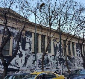 Κατεπείγουσα εισαγγελική έρευνα μετά τη θύελλα αντιδράσεων για το γκράφιτι στο Πολυτεχνείο! (Βίντεο) - Κυρίως Φωτογραφία - Gallery - Video