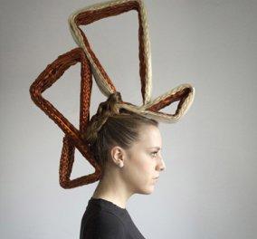O Νεοϋορκέζος κομμωτής Gigo δημιουργεί μαζί με αρχιτέκτονες χτενίσματα γυναικών σαν πελώρια αρχιτεκτονήματα! (Φωτό) - Κυρίως Φωτογραφία - Gallery - Video