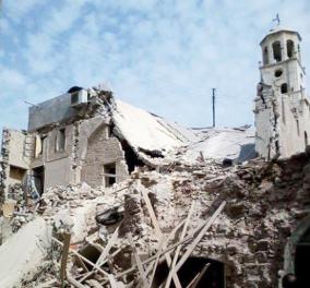 Παγκόσμιο έγκλημα της ISIS: Κατέστρεψαν τους Αγίους Σαράντα στο Χαλέπι - Κυρίως Φωτογραφία - Gallery - Video