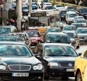 Κυριαρχεί το ΙΧ στις καθημερινές διαδρομές των Ελλήνων με 34% - Έπονται το λεωφορείο με 33% και το μετρό με 21%! - Κυρίως Φωτογραφία - Gallery - Video