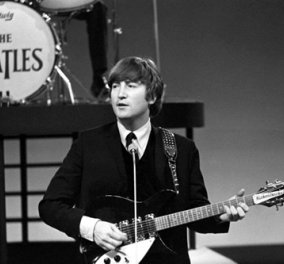 Στο «σφυρί» σπάνια κιθάρα του Τζον Λένον για τιμή ρεκόρ: 800.000 δολάρια - Κυρίως Φωτογραφία - Gallery - Video