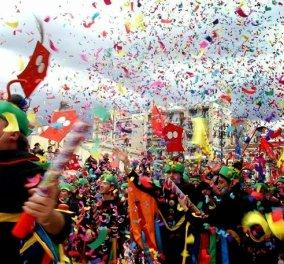 Καρναβάλι στην Πάτρα, την Ξάνθη, το Ρέθυμνο, το Γαλαξίδι, τη Νάουσα, τη Θεσσαλονίκη αλλά και την Αθήνα μικροί και μεγάλοι ετοιμάζονται για ξέφρενα γλέντια, χορό και τραγούδι - Κυρίως Φωτογραφία - Gallery - Video