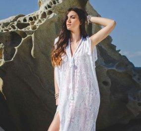 Μade in Greece από 7 Top Women + 1 άντρα: Μαγιό, γυαλιά, ρούχα, καπέλα - Φραγκίστα, Οικονόμου, Σταύρου ... - Κυρίως Φωτογραφία - Gallery - Video