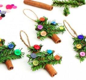 It's fun time! Δημιουργήστε τα ωραιότερα Χριστουγεννιάτικα στολίδια με... άρωμα κανέλας!  - Κυρίως Φωτογραφία - Gallery - Video