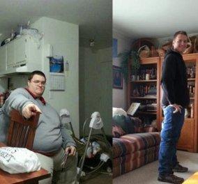 Story of the day: Ο 32χρονος Αμερικανός Brian Flemming μέσα σε 18 μήνες κατάφερε να χάσει 177 κιλά και να τρέξει σε Μαραθώνιο - Ζύγισε 283 κιλά! - Κυρίως Φωτογραφία - Gallery - Video
