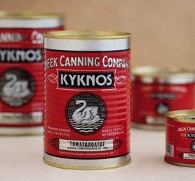 Made in Greece τα περίφημα ντοματάκια «Kyknos» - Ένα success story 103 ετών - Παράγει 2.100 τόνους ημερησίως! - Κυρίως Φωτογραφία - Gallery - Video